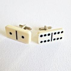 Domino Pieces Cufflinks
