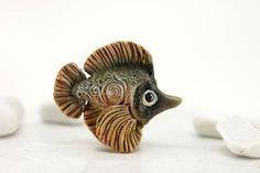 Fish Animal Sculpture Totem figurine fantasy creature