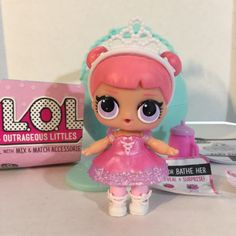 LOL Surprise Doll - Dance Club Center Stage - Fancy #1-024 - Outrageous Littles  #LOLSurpriseDolls