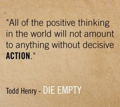 Todd Henry's new book:  Die Empty
