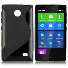 Cover Gel Nokia X & X+ Sline Nera € 5,99