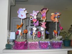 Fancy Frugal Life Glam Dora Birthday Party Decorations Party