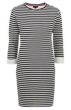 stripe sweater dress / topshop