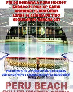 Este fin de semana hay fecha de libre LARH pero hay mucho hockey en @perubeachrollerhockeyarena Sábado pickup Domingo Iron Man y Lunes clínica de tiro. #roller #hockey #diversion #fun #clinica #buena #onda #love #fun #amigos #friends http://ift.tt/2g1x3SQ - http://ift.tt/1HQJd81