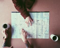 planning our adventure together.