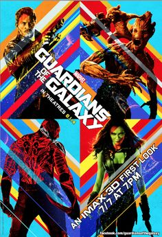 """Marvel's """"Guardians of the Galaxy"""": An IMAX® 3D First Look #GuardiansOfTheGalaxyEvent"""