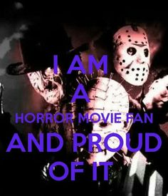 Proud Horror Fan