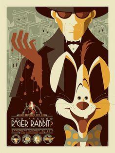 Who Framed Roger Rabbit?; Movie Poster