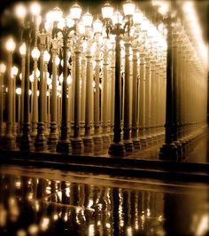 lacma lamp post
