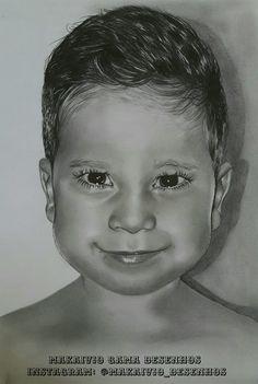 Desenho realista do meu garoto miguel. Nada melhor do que um desenho para homenagear. Curtiram acompanhem ai nas redes sociais esse e muito mais. Página: Makaivio Gama Desenhos  Instagram: @Makaivio_desenhos.