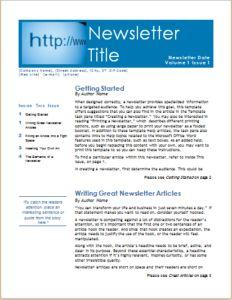 Employee Newsletter Download At HttpWwwTemplateinnCom