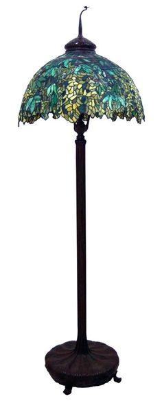 24 in. Tiffany Studios Parasol Table Lamp   Tiffany and Studio