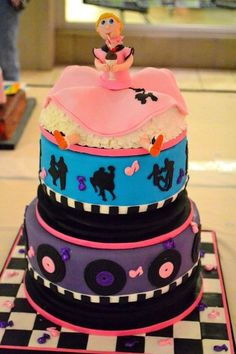 1000 Images About Cake Design For 1950 S Cake On