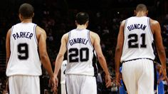 San Antonio Spurs: 4 varieties of Banners/Flags with Tim Duncan, Tony Parker, and Manu Ginobili; San Antonio Spurs, Nba West, Gregg Popovich, Manu Ginobili, Spurs Fans, Trend Sport, Utah Jazz, Nba Champions, Basketball Players