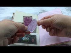 Altered Book Junk Journal Vintage Style - YouTube