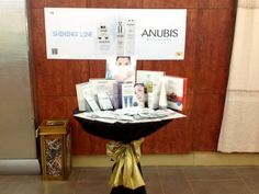 Anubis Barcelona presentation in Libya with our partner Manal by Spa Elnwaaem // Presentación de Anubis Barcelona en Libya con nuestra partner Manal de Spa Elnwaaem.