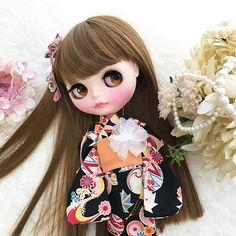 Blythe doll and kimono