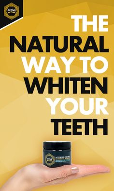 The Best Way to Whiten Your Teeth: Active Wow Natural Charcoal Teeth Whitening