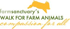 Farm Sanctuary's Walk for Farm Animals: Compassion For All  Chicago, Sept. 8th 2012  What an easy way to make a difference!