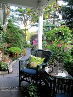 Love my OG Gourmet Morning Coffee on the Front Porch - One of my favorite ways to start the day..