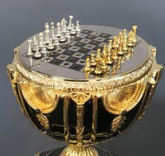 The Imperial Jeweled Egg Chess set By house Of Faberge! on Apr 2018 Chess Moves, Art Through The Ages, Chess Table, Vintage Cigarette Case, Chess Players, Faberge Eggs, Apple Wallpaper, Chess Pieces, Stained Glass Patterns
