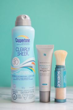 How to apply sunscreen over makeup