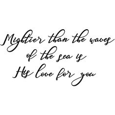 Mightier Than the Waves of the Sea Is His Love for You Wall Art Metal... ($175) ❤ liked on Polyvore featuring home, home decor, wall art, home & living, home décor, silver, wall décor, wall hangings, metal garden wall art and wall hanging