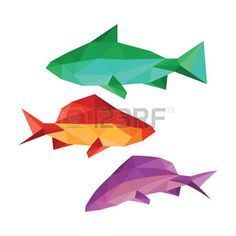 Image result for geometric fish
