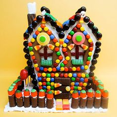 Food: Recipes, Cooking Tips, Celebrity Chef Ideas U0026 Food News. Eek, A House!  These DIY Halloween Gingerbread ...