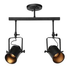 Lnc Track Ceiling Light Fixture 2 Lamp For Living Room Dining