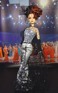 Miss France Barbie Doll 2007
