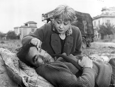 Anthony Quinn and Giulietta Masina in La Strada (one of my top 10 movies) Saint Yves, Great Films, Good Movies, Lion Of The Desert, I Movie, Movie Stars, Fellini Films, Zorba The Greek, Lawrence Of Arabia