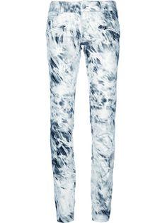 BARBARA BUI Tie-Dye Skinny Fit Jean