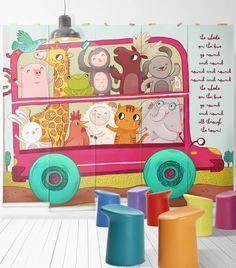 Imaginative Educational Children S Wallpaper Design