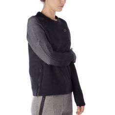 470ec063c70b Women s Nike Sportswear Tech Fleece Sweatshirt 809537 010 NWT Sz M - L