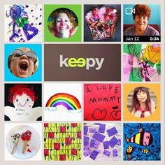 You can also save your kid's artwork (and a whole lot more!) with Keepy.