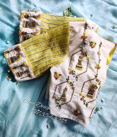 Pattu Saree Blouse Designs, Designer Blouse Patterns, Fancy Blouse Designs, Blouse Neck Designs, Wedding Saree Blouse Designs, Traditional Blouse Designs, Hand Work Blouse Design, Boutique, Indian