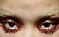 Edgy Makeup, Makeup Inspo, Makeup Art, Makeup Inspiration, Hair Makeup, Alluka Zoldyck, Aesthetic Makeup, The Villain, Looks Cool