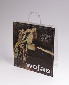 eco bags, paper bags, pink bag, shopping bag, www.ecosac.pl/, design, Wojas bag