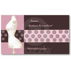 Glam Deco Jewelry Design Fashion Boutique Peach Business Card ...