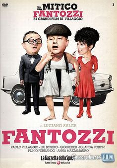 """Directed by Luciano Salce.  With Paolo Villaggio, Anna Mazzamauro, Gigi Reder, Giuseppe Anatrelli. Based on Paolo Villaggio's books """"Fantozzi"""" and """"Il secondo, tragico Fantozzi"""", which are popular in Italy, this film tells the story of an unfortunate accountant's life over the course of one year, shown in a variety of sketches, segments and provocative sequences making Fantozzi a very unlucky person indeed."""