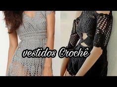 VESTIDO DE CROCHÊ/ SAÍDA DE PRAIA/ DRESS CROCHET BEACH - YouTube