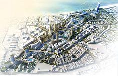 Masterplan Architecture, Urban Architecture, Futuristic Architecture, Architecture Master Plan, Environment Design, Built Environment, Landscape Design, Garden Design, Futuristic City