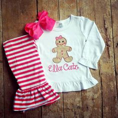 This item is unavailable Cute Christmas Outfits, Baby Girl Christmas, Holiday Outfits, Christmas Clothes, Cute Babies, Baby Kids, Easter Outfit, Baby Sister, Little Girl Fashion