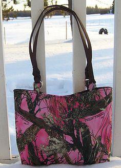 12 Gauge Girl Pink Camo Purse!  LOVE this! www.12GaugeGirl.com