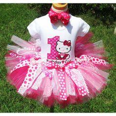 hello kitty födelsedag Minnie Mouse Birthday    Turquoise Tutu Birthday outfit   Photo  hello kitty födelsedag
