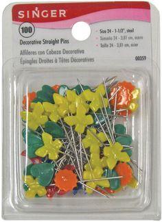Decorative Straight Pins-100/Pkg