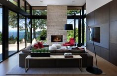 Modern home in West Vancouver offers wonderful indoor-outdoor lifestyle