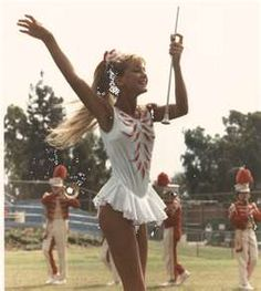 I used to be feature twirler for my HS I miss those days