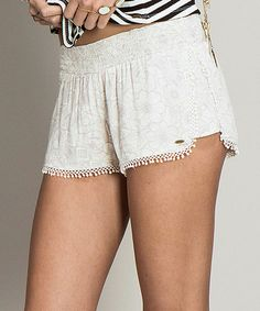 This Gray Floral Mona Shorts is perfect! #zulilyfinds